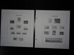 Belgique De 1985 à 1994 Pages Davo Standard Neuves Sans Pochette - Pré-Imprimés