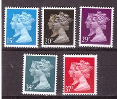 PIANIANO - GRAN  BRETAGNA. - 1990  : 150° Della Creazione Del Primo Francobollo - (Yv 1434-38) - Unused Stamps
