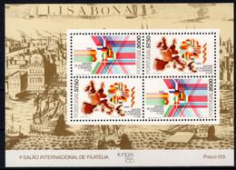 1986 Portogallo,  EUROPEX 86 Foglietto, Serie Completa Nuova (**) - Unused Stamps