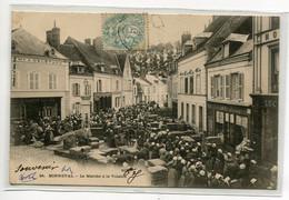 28 BONNEVAL Le Marché à La Volaille Place Du Village 1904 Timb Dos Non Divisé   /DS-2015 - Bonneval