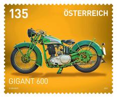 Austria - 2021 - Gigant-600 Motorcycle - Mint Stamp - 2011-... Neufs