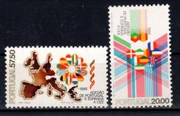 1986 Portogallo,  Adesione Alla CEE Serie Completa Nuova (**) - Unused Stamps