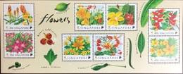 Singapore 1998 Flowers Minisheet MNH - Ohne Zuordnung