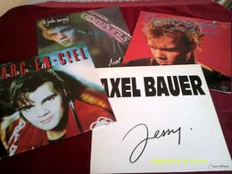 AXEL  BAUER ° COLLECTION DE 4 MAXIS 45 TOURS VINYLES - Collezioni
