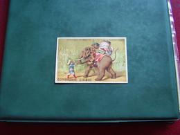 Original Old Card Chromo Liebig S 123 Promenade En Eléphant - Liebig