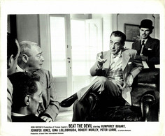 Humphrey Bogart Marco Tulli  BEAT THE DEVIL 1953 +-20*25.5cm JOHN HUSTON FILM DIRECTOR CINEMA - Beroemde Personen