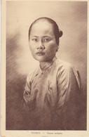 TONKIN  Femme Indigène - Vietnam