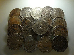 Portuguese S. Tomé E Príncipe Lot 18 Coins 50 Centavos 1929 Bad Grade - Alla Rinfusa - Monete
