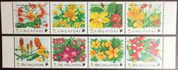 Singapore 1998 Flowers Set MNH - Ohne Zuordnung