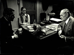 Paul Newman Dominique Sanda And Harry Andrews THE MACKINTOSH MAN 1973 +-18*26cm JOHN HUSTON FILM DIRECTOR CINEMA - Beroemde Personen