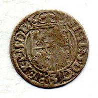POLAND - ELBING, 3 Polker - 1/24 Thaler, Silver, Year 1620, KM #41 - Pologne