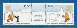 ⭐ TAAF - Terres Australes Et Antarctiques Françaises - YT PA N° 119 Et 120 ** - Neuf Sans Charnière - 1992 ⭐ - Corréo Aéreo