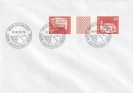 ST. GALLEN (SG) Kanton St. Gallen - SS-Stempel Auf - Brief - OLMA 1975 - Marcofilia