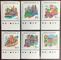 Singapore 1999 Tourism Joint Issue With Hong Kong MNH - Singapur (1959-...)