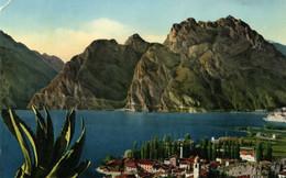 TORBOLE LAGO DI GARDA Viaggiata 1954 Lavorata Su Due Bordi - Other Cities