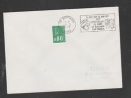 Flamme Dpt 59 : BOUCHAIN (SCOTEM N°  4179 Du ??03/1977 => 22/05/1977) : 500 Ans Du Siège De BOUCHAIN Par Louis XI - Mechanical Postmarks (Advertisement)