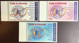 Singapore 1999 Inter-Religious Organisation MNH - Singapur (1959-...)