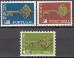 PORTUGAL 1051-1053, Postfrisch **, Europa CEPT 1968 - Unused Stamps