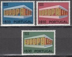 PORTUGAL 1070-1072, Postfrisch **, Europa CEPT 1969 - Unused Stamps