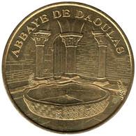 29-0647 - JETON TOURISTIQUE MDP - Abbaye De Daoulas - Cloître Et Vasque - 2007.2 - 2007