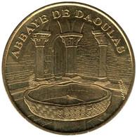 29-0647 - JETON TOURISTIQUE MDP - Abbaye De Daoulas - Cloître Et Vasque - 2007.4 - 2007