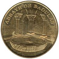 29-0647 - JETON TOURISTIQUE MDP - Abbaye De Daoulas - Cloître Et Vasque - 2007.5 - 2007