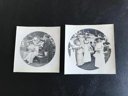 Photo - 1912 - BOURG (EN BRESSE) AVIATION Dames élégantes Aux Grands Chapeaux - Places