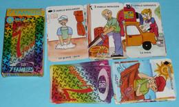 Rare Jeu De Cartes Des 7 Familles Puzzle, Métiers, Boulanger, Pêcheur, Menuisier, Garagiste - Other