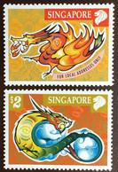 Singapore 2000 Year Of The Dragon MNH - Singapur (1959-...)