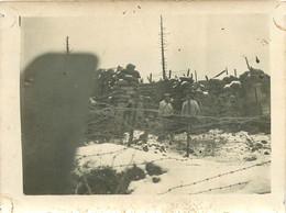 170621 - PHOTO Guerre 14 18 WW1 Poilu Tranchée Du Barren Kapf ALSACE 1915 1916 Barbelé - Guerre 1914-18