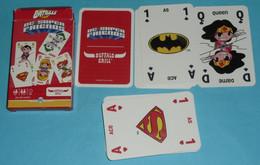 Rare Jeu De 32 Cartes Publicitaire, Buffalo Grill DC Super-Friends, Comics, Batman Superman - 32 Cards