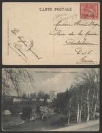 "Olympiade D'anvers - N°180 Sur CP Vue Obl Simple Cercle ""Beaumont"" > France - Cartas"