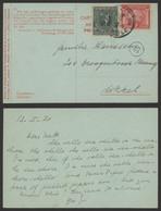 "Olympiade D'anvers - N°179/80 Sur Carte De Propagande ""Bruxelles / Brussel 1C"" (1921) > Ukkel - Cartas"