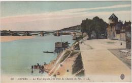 58 Nevers  Tour Goguin Et Pont Du Chemin De Fer - Nevers