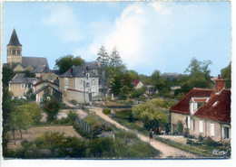 CPSM 18 BENGY Sur CRAON Vue Générale (rue Du Chamoine Volton, De La Boucherie) Voie Chemin De Fer, Eglise - Peu Commune - Otros Municipios