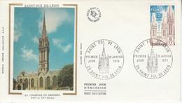 FDC 1975 SAINT POL DE LEON - 1970-1979