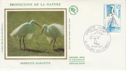 FDC 1975 AIGRETTE GARZETTE - 1970-1979