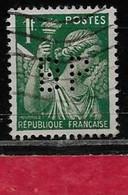 @  Perfin France  Perfore BP 146   Indice 3 - Gezähnt (Perforiert/Gezähnt)