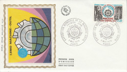 FDC 1975 EXPOSITION MACHINE OUTIL - 1970-1979