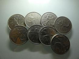 Canada Lot 8 Coins 25 Cents - Alla Rinfusa - Monete