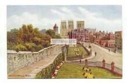 A R Quinton Postcard No. 3558 - The City Walls, York - C1950's - Quinton, AR