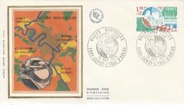 FDC 1975 VILLES NOUVELLES - 1970-1979