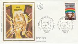 FDC 1975 ANNEE DE LA FEMME - 1970-1979