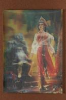"Vintage USSR 3D Stereo Lenticular Postcard 1983 Russian Fairy Tale ""Beauty Varvara Long Hair"". Sorcerer Palace. Treasure - Fiabe, Racconti Popolari & Leggende"