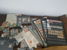 Giant Collection On Standing Helvetia - Used Stamps
