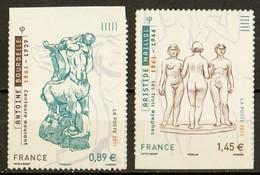 2011  Autoadhésifs  N° 633 Et 634  Neufs** SERIE COMPLETE (cote Yvert: 15.00€) - Autoadesivi