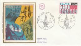 FDC 1975 REGION NORD-PAS DE CALAIS - 1970-1979