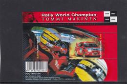 Finland 2000 - Rally World Champion Tommi Makinen, Block 23, MNH** - Ungebraucht