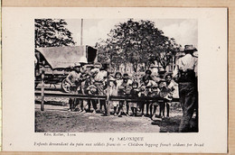 Eus064 ⭐ En Campagne 8 Septembre SALONIQUE Enfants Demandant Pain Aux Soldats Français Cpaww1 ROLLET 63 - Griechenland
