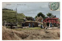 Auvergne Batteuse De Blés - Auvergne